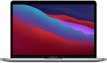 """Apple MacBook Pro 13.3"""" with Retina Display, M1 Chip with 8-Core CPU and 8-Core GPU, 16GB Memory, 512GB SSD, Space Gray, L..."""