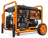 WEN GN9500 420cc Transfer Switch and RV Ready 120V/240V 9500-Watt Portable Generator w/Remote Electric Start, CARB Compliant, Black