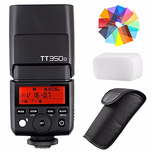 Godox TT350O 2.4G HSS 1/8000s TTL GN36 Camera Flash Speedlite