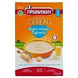 Plasmon Crema di Cereali con Riso Mais e Tapioco, 230g