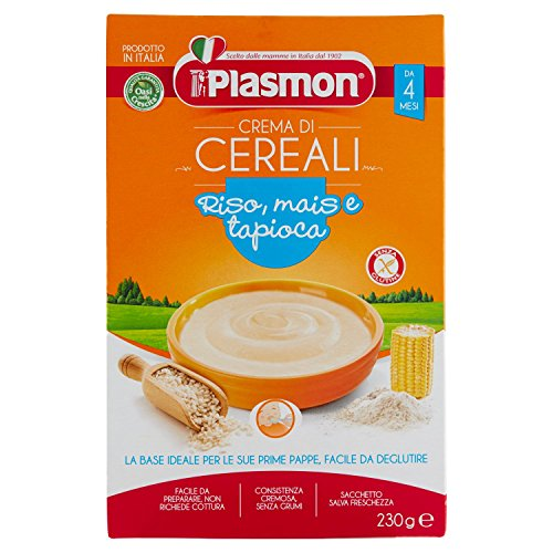 Plasmon Oasi nella Crescita, Scatola Crema di Cereali, dal 4 Mese - 230 gr