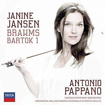 Brahms: Violin Concerto; Bartók: Violin Concerto No.1