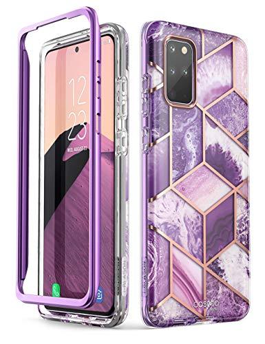 i-Blason Handyhülle für Samsung Galaxy S20+ Plus Hülle Glitzer Hülle Bumper Schutzhülle Glänzend Cover [Cosmo] 6.7 Zoll OHNE Bildschirmschutz 2020 Ausgabe, Lila
