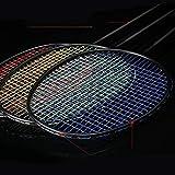 LVYI Full Carbon Raqueta de bádminton, Tanto ofensivos como defensivos, Ultraligera 6U Pequeño Negro Raqueta, Foto de Adultos Raqueta de bádminton Individual