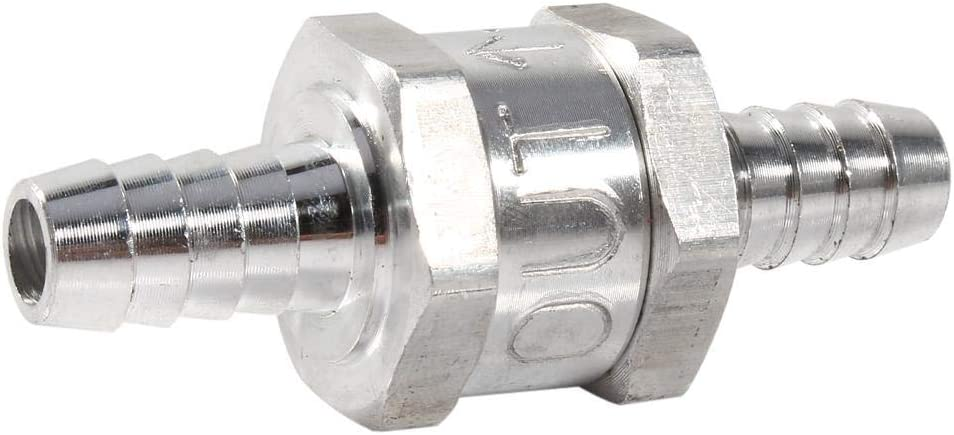 Fuel Check Latest security item Valve 3 8inch Non Return One Aluminum Way Alloy