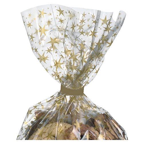 SUSY CARD 40004143 de clips de fermeture pour pochette transparente, papier, le métal, 20 pièces en sachet, doré