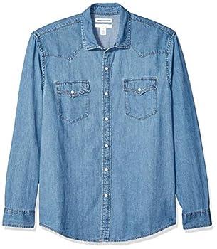 Best long sleeve jean shirt Reviews