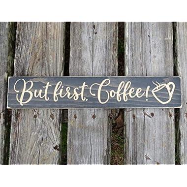 coffee sign-but first coffee-coffee bar sign-coffee-coffee decor