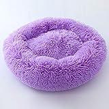 Segle Hundebett, Warm,Weich,Waschbares Fellkissen,Abnehmbares Kissen,Waschbar,Für Welpen und...