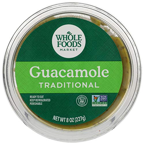 Whole Foods Market Guacamole, Traditional, 8 Oz