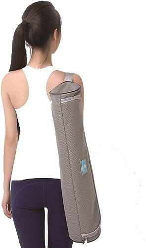 Huijunwenti Tapis de Yoga, Tapis de Yoga pour Dos, Tapis de Fitness, Couleur  gris Clair, Taille  183cmx80cm Epaisseur  10mm