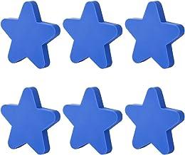 LHSJYG Lade knoppen, lade handgrepen 6 stks Cartoon Star vorm Pull handgrepen deur kast knop creatieve pull handvat voor k...