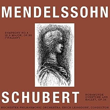 Mendelssohn and Schubert