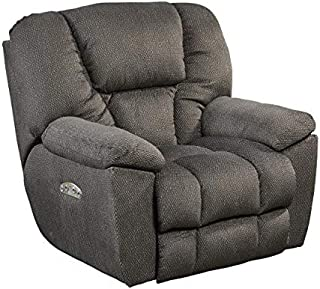 64761-7-2779-28 (Seal) Catnapper Owens Power Lay Flat Recliner with Power Headrest and USB Port. Free Curbside Delivery in Most Areas.