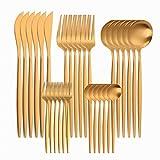 Acero inoxidable Set de cubiertos occidentales Juego de vajillas de 30 piezas Set de vajilla de acero inoxidable Vajilla Cuchara negra Cuchillo de tenedor Cuchillo Conjunto Casa Completa Casa Flotware