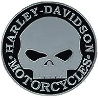 Parche bordado para motocicleta o moto Harley Davidson Circular