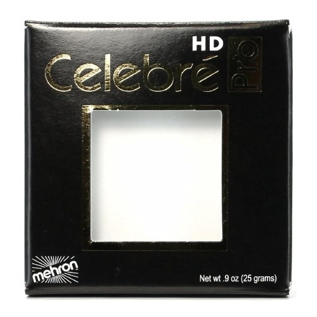 スキャンダラス日食可聴(3 Pack) mehron Celebre Pro HD Make-Up - White (並行輸入品)
