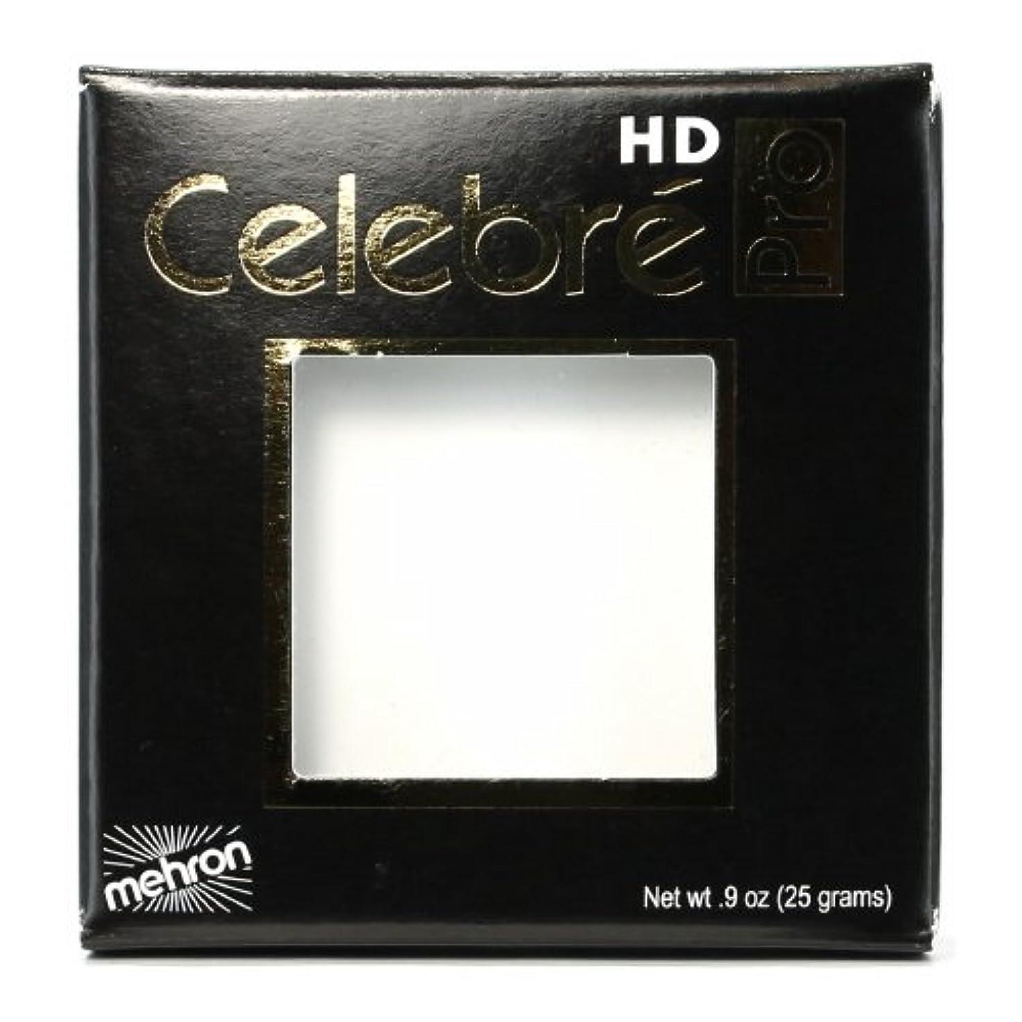 九時四十五分ナット追放する(6 Pack) mehron Celebre Pro HD Make-Up - White (並行輸入品)