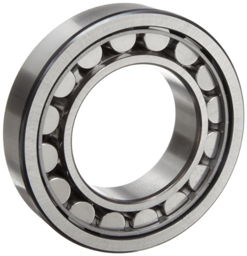 SKF NJ 316 ECJ Cylindrical Roller Bearing, Removable Inner Ring, Flanged, High Capacity, Steel Cage, Metric, 80mm Bore, 170mm OD, 39mm Width, 3800rpm Maximum Rotational Speed, 65200lbf Static Load Capacity, 58500lbf Dynamic Load Capacity