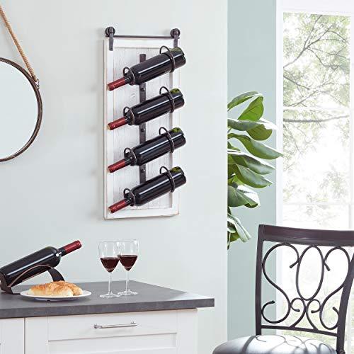 wine bottle wall plaque - 2