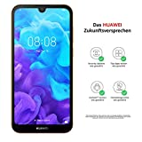 HUAWEI Y5 2019 Dual SIM Smartphone (14, 5 cm (5, 71 Zoll), 16GB ROM, 2GB RAM, 13MP Hauptkamera, 5MP Frontkamera, Android 9.0, EMUI 9.0) Amber Brown