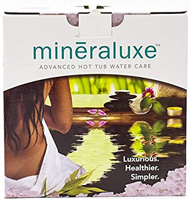 Mineraluxe Dazzle Weekly Spa and Hot Tub Care System with Bromine: 3 Month Kit