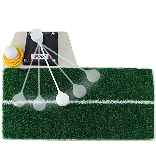 CLII Golf-Practice-Schaukel Mat Golf Scheibe Corrector Innen Ansatz Golfschwung Trainer, Golf Power-Trainer