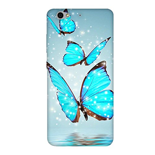 Fasheen Printed Back Case Cover for Gionee S6, Flexible Soft Silicone Rubber TPU, Print: Blue Turquise