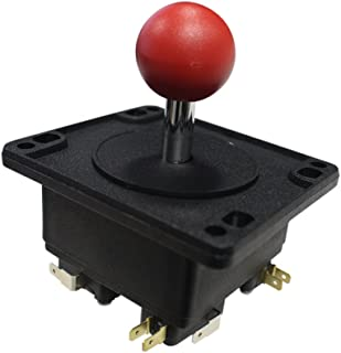 Happ Red Round Arcade Joystick with Microswitches 50-6084-112R00