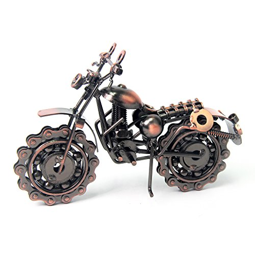 Made from metal through complicated workship Wheels moveable, makes it become a great toy for children over 7 years who loves vehicles 100% handcrafted, it looks new for long lasting time with the plating process of the whole process Creative Bronze ...