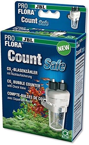 JBL CO2 CountSafe 2 64496 Blasenzähler mit Rücklaufsicherung für CO2-Anlagen von Aquarien