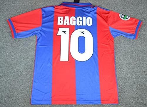 HAO Baggio#10 Retro Jersey New item 1997-1998 REDBlue Patch Popular popular Full Color