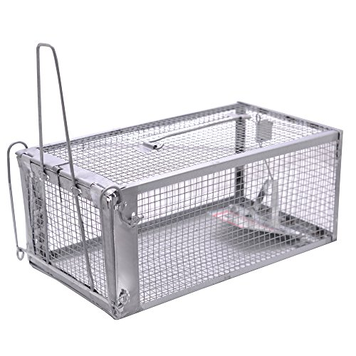 MATATA Humane Mouse Trap Live Animal Cage Trap for Rats Mice Gopher Rodents Chipmunks and Similar Sized Pests