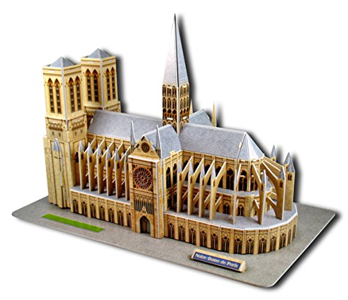 Puzzle 3D Notre Dame de Paris 37,5 cm by Cubic Fun