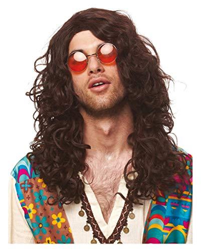 Horror-Shop Hippie perruque Hommes