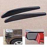 YANJ - Protector de tiras de fibra de carbono de 32,5 cm, para parachoques y esquina, para Ford Mazda Audi