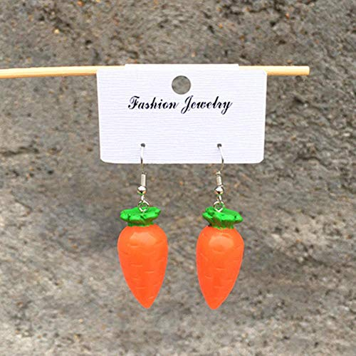 DAN Resin stereo lemon orange earrings long pendant fashion summer fruit jewelry for girls and teenagers gifts wholesale,26