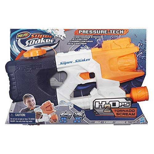 Nerf - Super Soaker Pistola d\'acqua H20 Tornado Scream