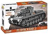 COBI COBI-3062 Pz. Kpfw. III AUSF. Jgrau Spielzeug, Grau