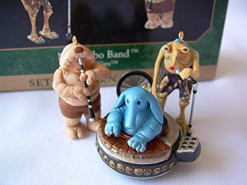 Star Wars MAX Rebo Band Set of 3 Ornaments