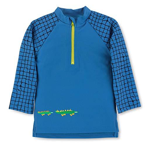 Sterntaler Jungen Langarm-Schwimmshirt, UV-Schutz 50+, Alter: 4-6 Jahre, Größe: 110/116, Farbe: Blau