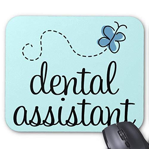 Accesorios de computadora anti-fricción pulsera lindo asistente dental Mouse Pad 18X22