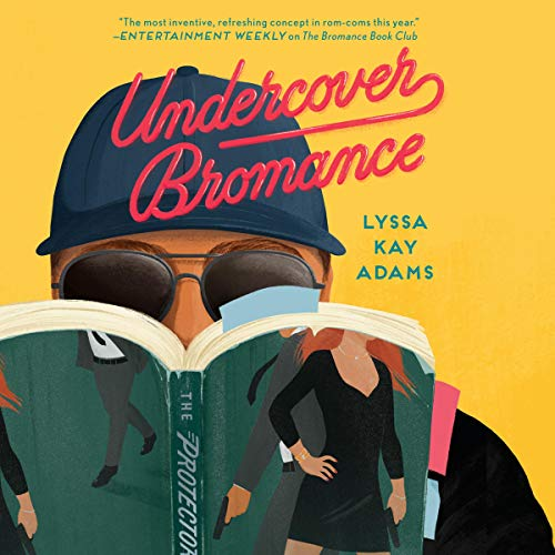 Undercover Bromance audiobook cover art