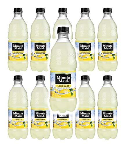 Minute Maid Lemonade 20oz bottles pack of 10 (total of 200 FL OZ)