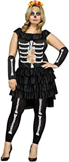 Women's Dia De Los Muertos Plus Size Costume