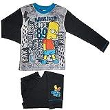 TDP Kinder Jungen Charakter Bart Simpsons Pyjamas Lang - Bart Herstellung Ärger, 122-128