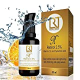 ROYAL NEEDS ; YOUR HIGHNESS Retinol 2.5% +Vitamin C and E, Hyaluronic, Glycolic