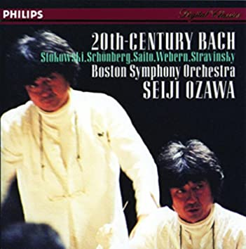 Bach, J.S.: Transcriptions by Stokowski/Schoenberg/Stravinsky/Webern