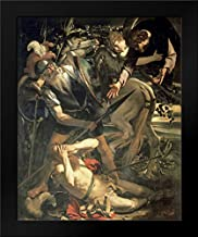 Conversion of St. Paul Framed Art Print by Caravaggio