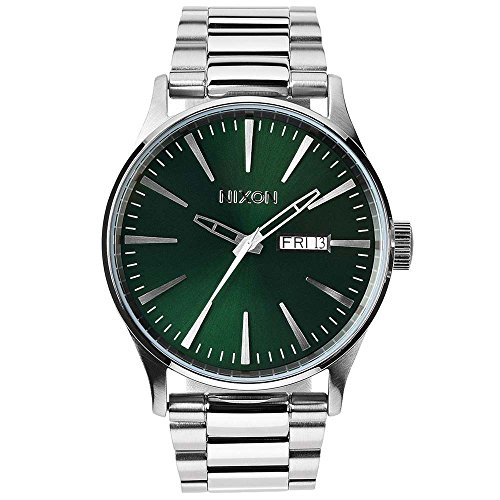 Nixon Herren-Armbanduhr XL Analog Quarz Edelstahl A3561696-00